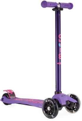 Micro Kickboard Kids' Maxi Deluxe Scooter w/ Light-Up Wheels