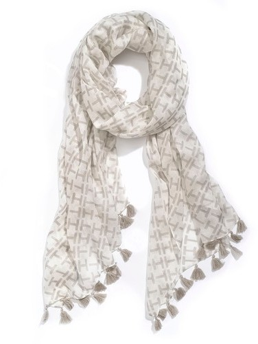 Tommy Hilfiger Women's Th Print Light Weight Scarf