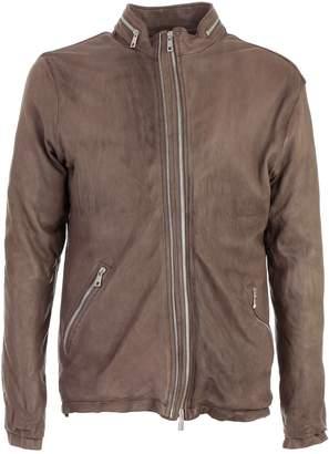 Giorgio Brato Slim Fit Biker Jacket
