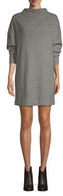 Highline Collective Funnelneck Mini Shift Dress