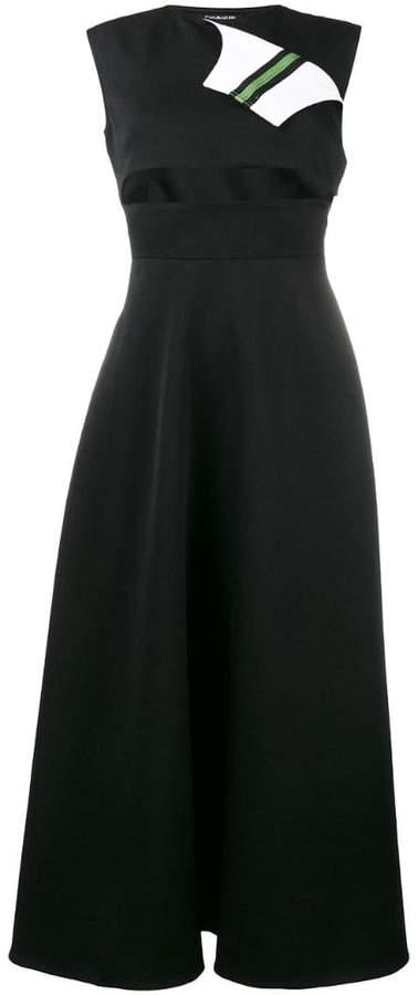 Calvin Klein 205W39nyc Marching Band sleeveless midi dress