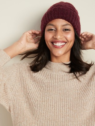 Old Navy Soft-Brushed Cable-Knit Beanie for Women