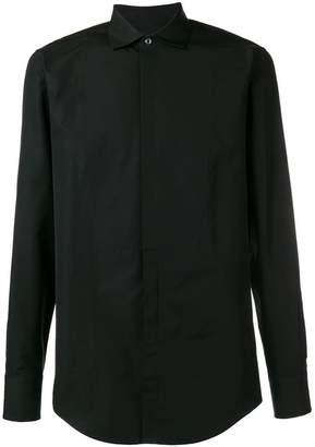 DSQUARED2 spread collar shirt