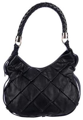 Saint Laurent Quilted Leather Hobo