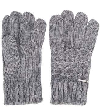 Diesel knit gloves