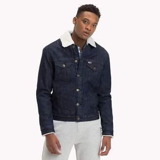 Tommy Hilfiger Fleece-Lined Denim Jacket