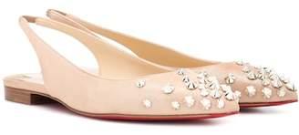 cae712c137f2 Christian Louboutin Pink Women s flats - ShopStyle