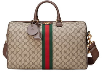 Gucci Medium Ophidia GG Supreme Carry-On Duffle