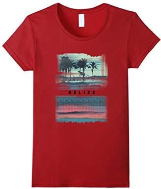 Vintage Belize Shirt Ocean Beach Vacation Tshirt Men Women