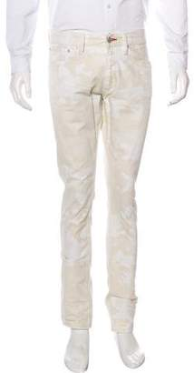 Ralph Lauren Black Label Camo Print Slim Fit Pants