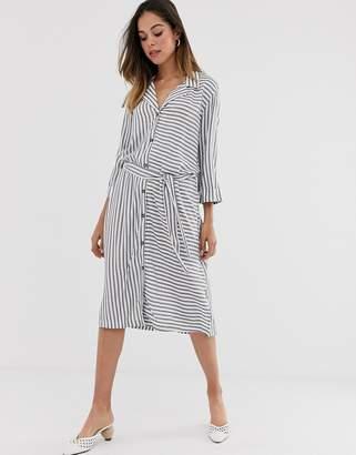 JDY Karla stripe shirt dress