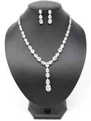 Nadya's Closet Tear Drops Necklace-Set