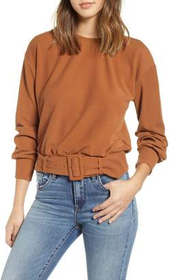 J.o.a. Belted Sweater