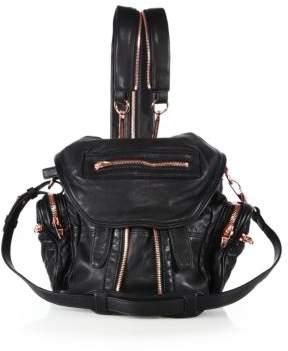 Alexander Wang Marti Mini Convertible Leather Backpack