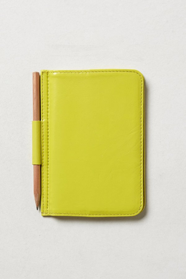 Anthropologie Every Thought Leather Journal