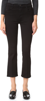 J Brand Helena High Rise Crop Boot Jeans $208 thestylecure.com