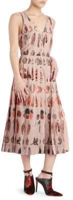Altuzarra Eos Printed A-Line Dress