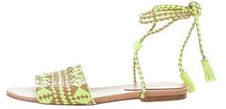 Rebecca Minkoff Woven Leather Sandals