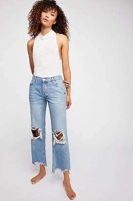 We The Free Maggie Mid-Rise Straight Leg Jeans
