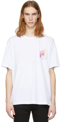Alexander Wang White AWG Corporate T-Shirt