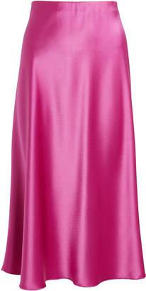 Nanushka Zarina Satin Slip Mini Skirt
