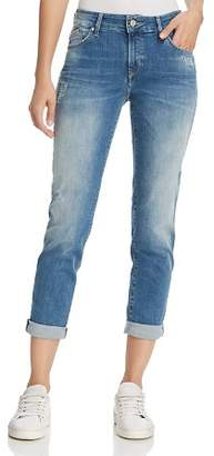 Mavi Jeans Emma Boyfriend Jeans in Indigo Ripped Nolita