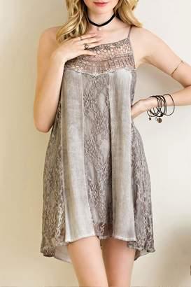 Entro Acid Wash Cami Dress
