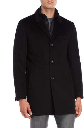 Michael Kors Black Slim Fit Coat