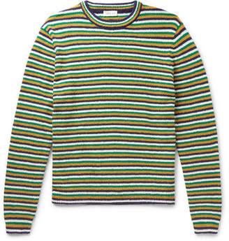 You As Mathis Striped Cotton-Bouclé Sweater