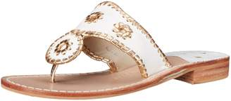 Jack Rogers Women's Nantucket Gold Dress Sandal