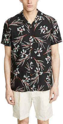 Paul Smith Button Down Shirt with Floral Print