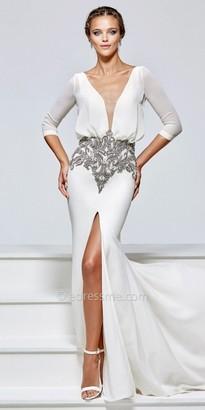 Tarik Ediz Cara Evening Dress $848 thestylecure.com