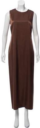 Maria Calderara Sleeveless Maxi Dress