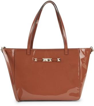 Valentino Garavani Rockstud Patent Leather Shoulder Bag