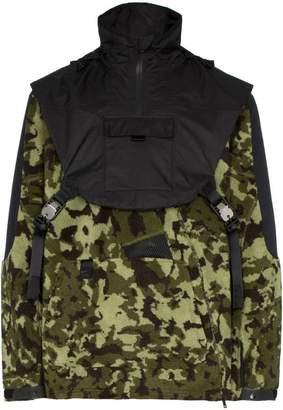 Nike (ナイキ) - Nike X Alyx MMW two-part camouflage hooded fleece jacket