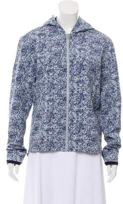Outdoor Voices Printed Oversize Jacket
