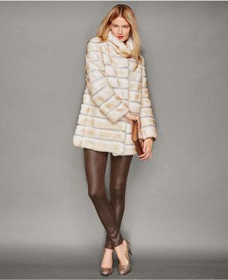 The Fur Vault Rabbit Fur Jacket $2,595 thestylecure.com