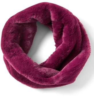 Banana Republic Twisted Faux Fur Snood Scarf