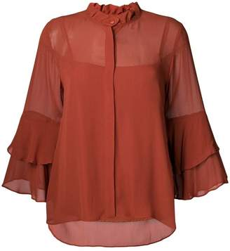 Twin-Set ruffle blouse