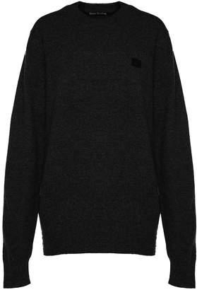 Acne Studios Nalon Face Wool Sweater