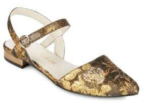 Anne Klein Embroidered Odell Slingback