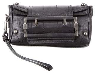 Givenchy Metallic Leather Wristlet
