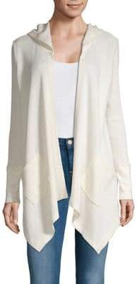 Style&Co. Style & Co. Asymmetric Hem Hooded Cardigan