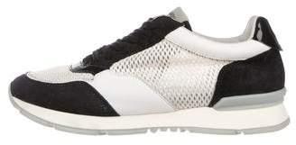 Giorgio Armani Mesh Low-Top Sneakers