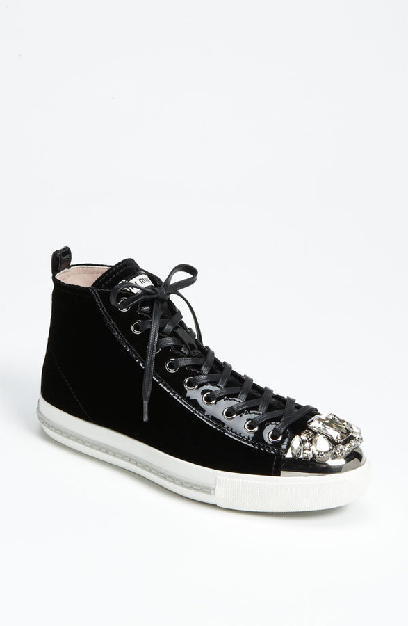 Miu Miu High Top Sneaker