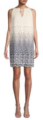 Max Studio Printed Sleeveless Dress