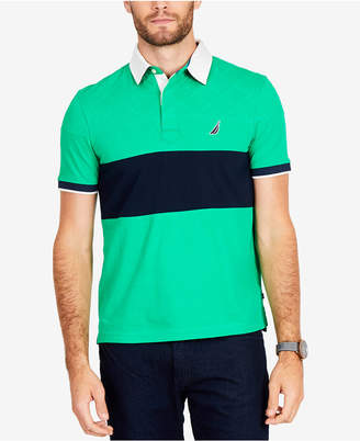 Nautica Men's Colorblocked Quilted Polo