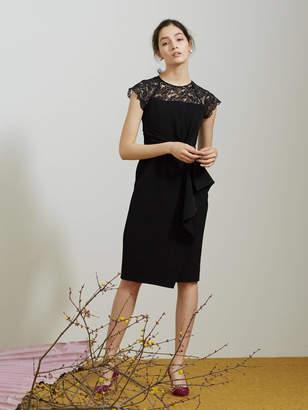 LAGUNAMOON (ラグナムーン) - LADY ラッフルリボンタイトドレス