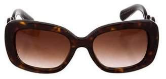 Prada Baroque Tinted Sunglasses