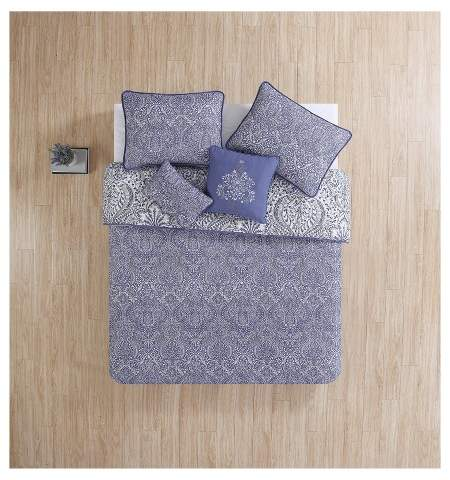 VCNY Purple Jolie Quilted Coverlet Set - VCNY®
